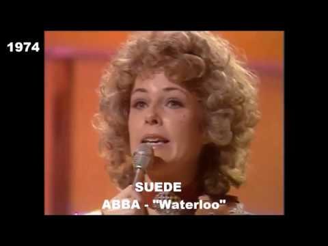 Tous les gagnants de l'Eurovision 19562016