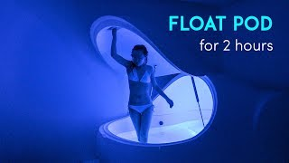 FLOAT POD EXPERIENCE ft. ASMR Whispers & Water Sounds