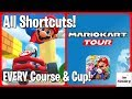 ALL Mario Kart Tour Shortcuts! (All Cups & Every Course)