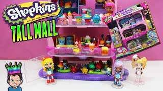 New Shopkins Tall Mall Biggest Shopkins Playset Ever 4 Exclusive Shopkins Youtube