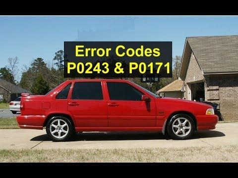 Error code P0243 and P0171, Volvo S70, V70, XC70, 850, etc. Turbo - Auto Repair Series