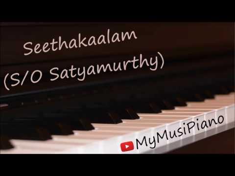 Seethakalam (S/O Satyamurthy) on piano