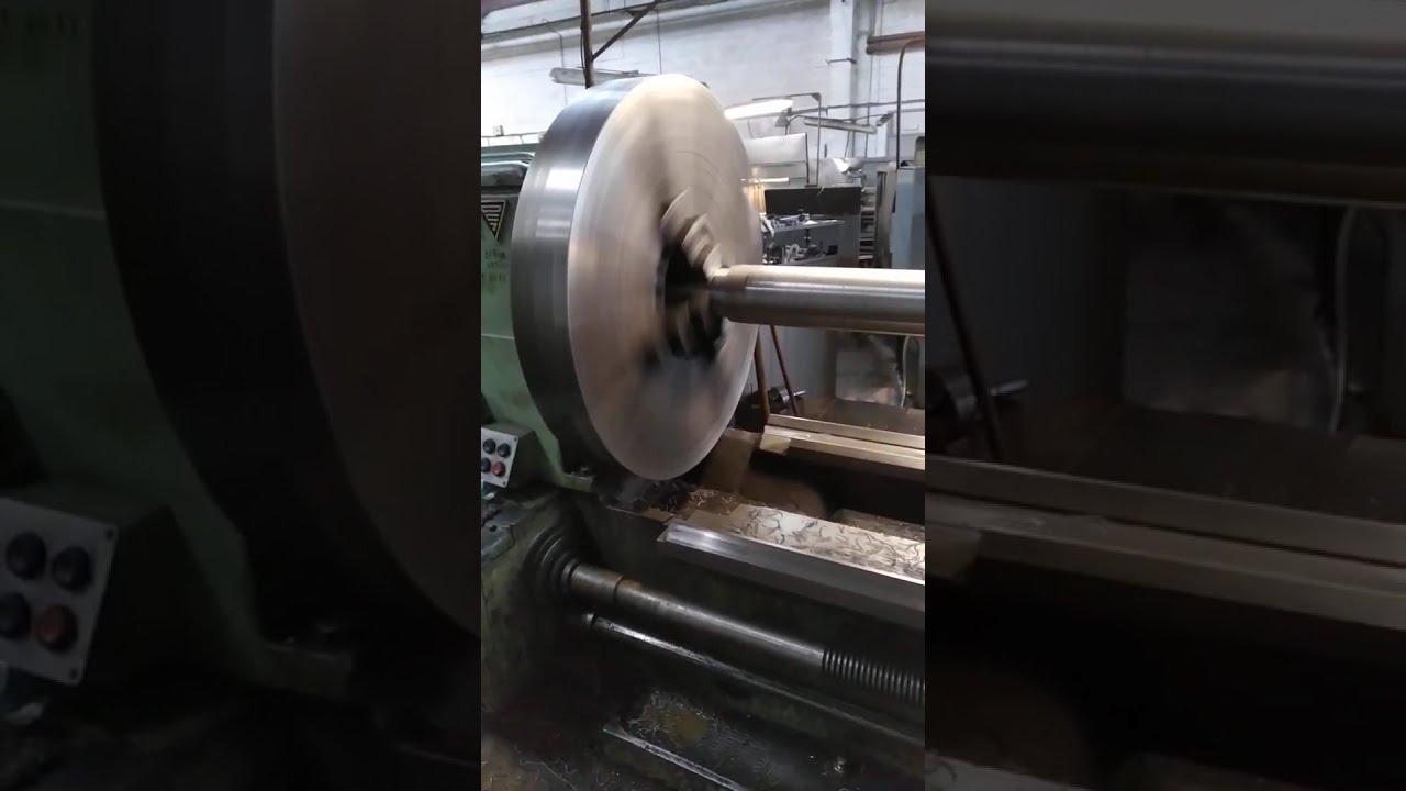 Токарная обработка вала длинной 2500мм