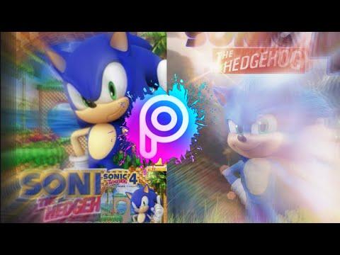 [RareGalaxy5] I Made A Movie Sonic The Hedgehog 4 Game Box Cover!  