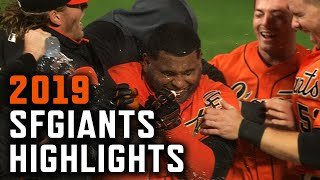 2019 San Francisco Giants Highlights