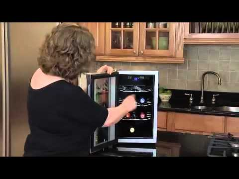 Cuisinart 8 Bottle Private Reserve Wine Cellar (CWC-800) Video