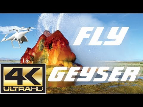 4K Drone Footage FLY GEYSER plus Burning Man 2017 from a Distance