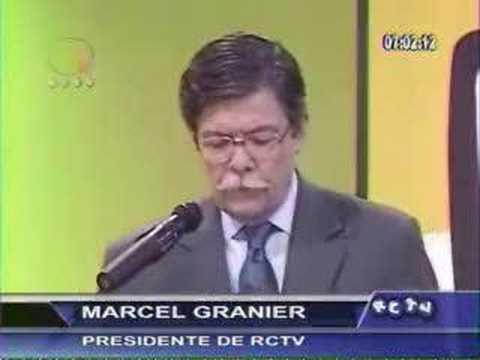 Rueda de Prensa Dr Marcel Granier parte I
