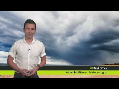 Saturday morning forecast 27/05/17