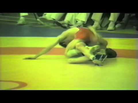 1988 Senior European Championships: 52 kg Saban Trstena (YUG) vs John Melling (GBR)