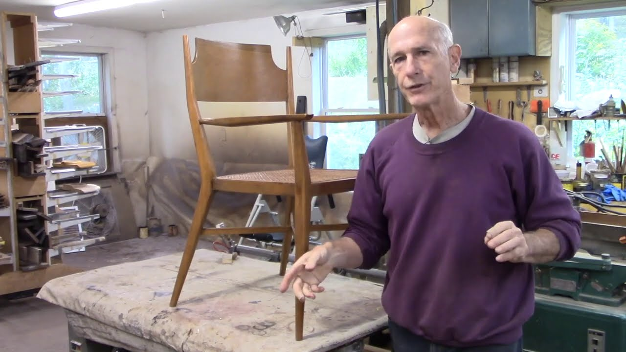Restoring Midcentury Modern Chairs by Paul McCobb - Thomas Johnson Antique Furniture Restoration
