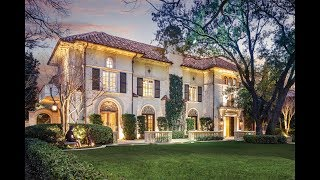 The Iconic Ferris Mansion in Highland Park, Texas