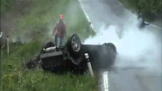 Car Accident Overshoot Curve