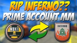 CO TO JEST PRIME ACCOUNT MATCHMAKING? RIP INFERNO [*] CS:GO Update 22.04.2016