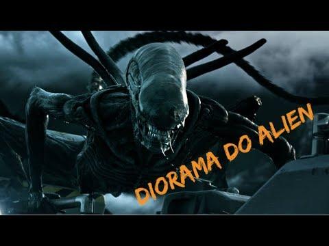 Diorama do Alien