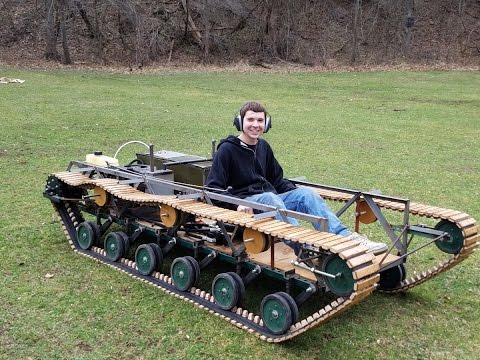 how to make a tank at home