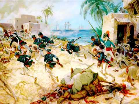 The Battle of Derne - Part Of The First Barbary War