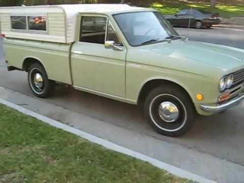 1970 Datsun Pickup Walk Around - YouTube