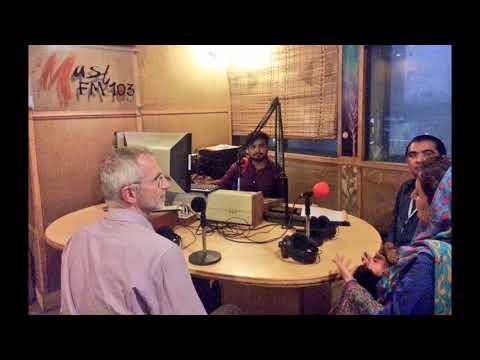 Radio Show FM 103, UNIDO UCR Nadia Aftab, Industrial Officer HQ, Mr  Ivan Kral, Irfan Hyder