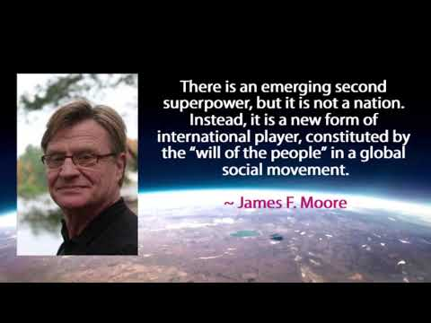 James F  Moore:   Public Quotes relating to World Democracy through a Global Referendum
