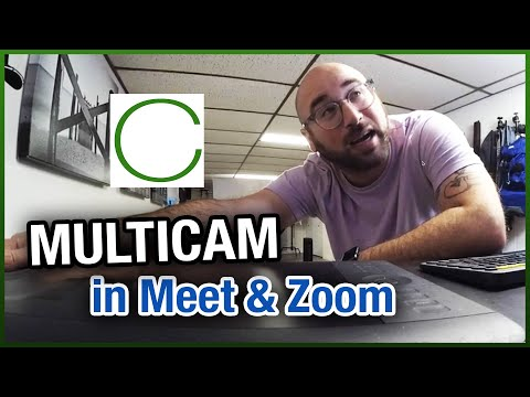 How to use multiple cameras with Meet or Zoom