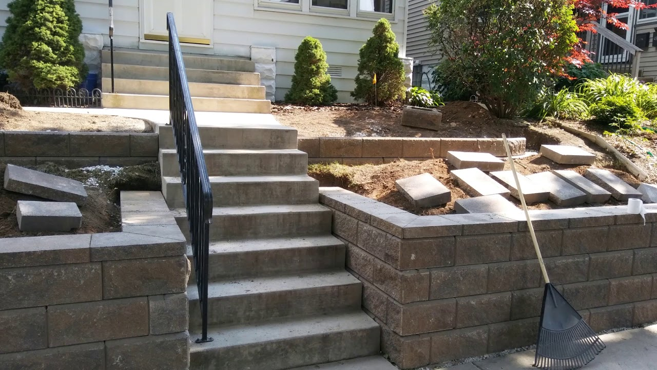Two Tier Retaining Wall Large