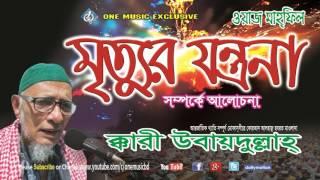 Mirtur Jontrona । Bangla WAZ । Qari Obaidullah । (Audio)