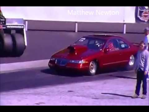 Lincoln Mark 8 Dragster 1 4 Mile Run Youtube