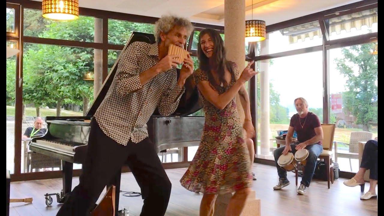 Concert de gratitude Alexandre Cellier et Maria de la Paz à La Lignière