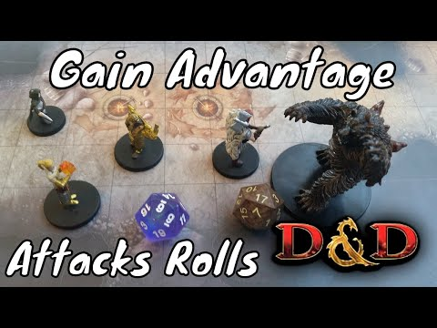 How to Gain Advantage on Attack Rolls (D&D 5e)