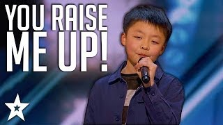 Download lagu 13 Y O Kid Singer Gets Standing Ovation on America s Got Talent Got Talent Global MP3