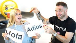 POPULAR Ukrainian YouTuber BARVINA Learns Spanish
