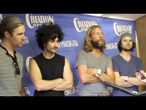 "Audio Adrenaline ""Believer"" Interview From Creation East 2013"