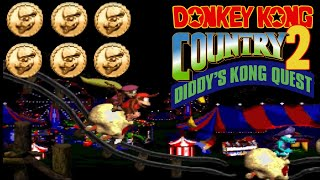 Donkey Kong Country 2: Diddy Kong's Quest: All Kremcoins