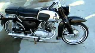 1966 Honda Benly (Baby Dream) 160 CA95