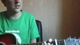 Wild Pandas - Walter Schreifels acoustic cover