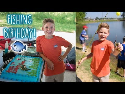 BEST EVER 7th BIRTHDAY FISHING PARTY!!🎣