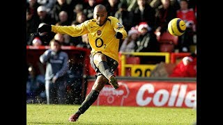 Thierry Henry vs Charlton Athletic Away PL 2005/06 - another great performance