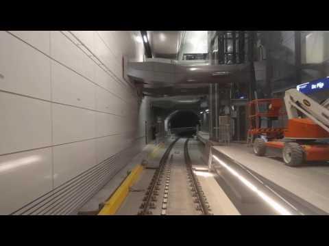 Testrit Noord/Zuidlijn van station Zuid naar station Noord - originele snelheid