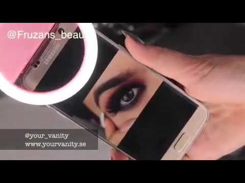 Mobile Ring Light - Vanity Beauty Line - Pink - How To Video