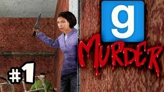 KILLER ON THE LOOSE - Gmod Murder w/ Nova, Kevin & Immortal Ep.1
