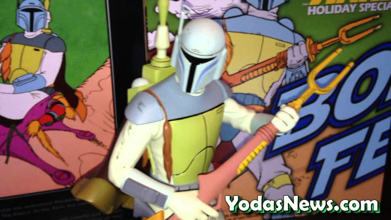 Star Wars Gentle Giant LTD Boba Fett Holiday Special Animated ...