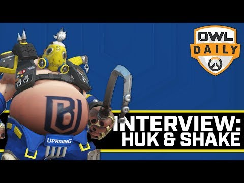 HuK & Shake Looking Forward to Stage 4 (with HuK & Shake) - Overwatch League Daily