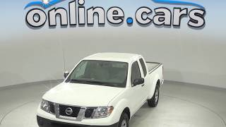 R98942NC Used 2017 Nissan Frontier RWD White Test Drive, Review, For Sale