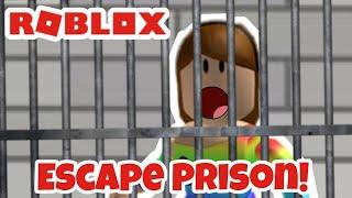 Roblox Escape Prison Obby and Jail Break! I Escaped!