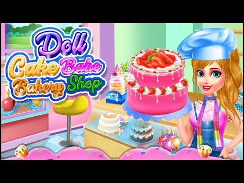 Game Anak Perempuan Barbie Main Masak Masakan Membuat Kue Tart Lucu Kue Ulang Tahun Youtube