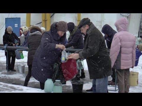 Телеканал Лтава: На водозаборі «Полтававодоканалу» освятили воду