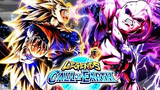 First Multi SSJ3 ANIMATION! What IS THIS BANNER! | Dragon Ball Legends