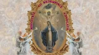 """Catholic """"Hail Mary"""" Song (EWTN version) The Rosary with Mother Angelica"""
