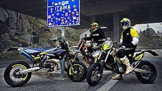 Supermoto Madness | 2 Stroke vs 4 Stroke